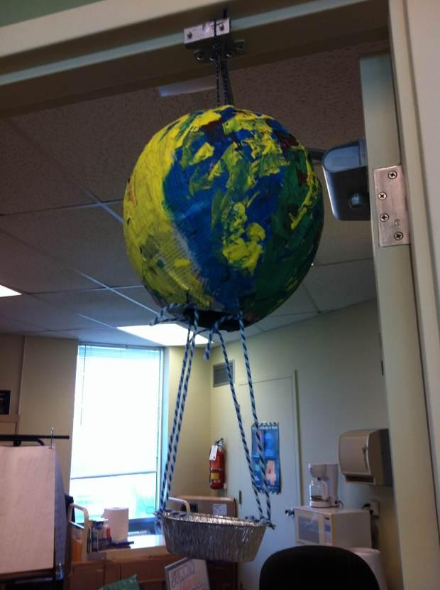 Paper Mache Balloons