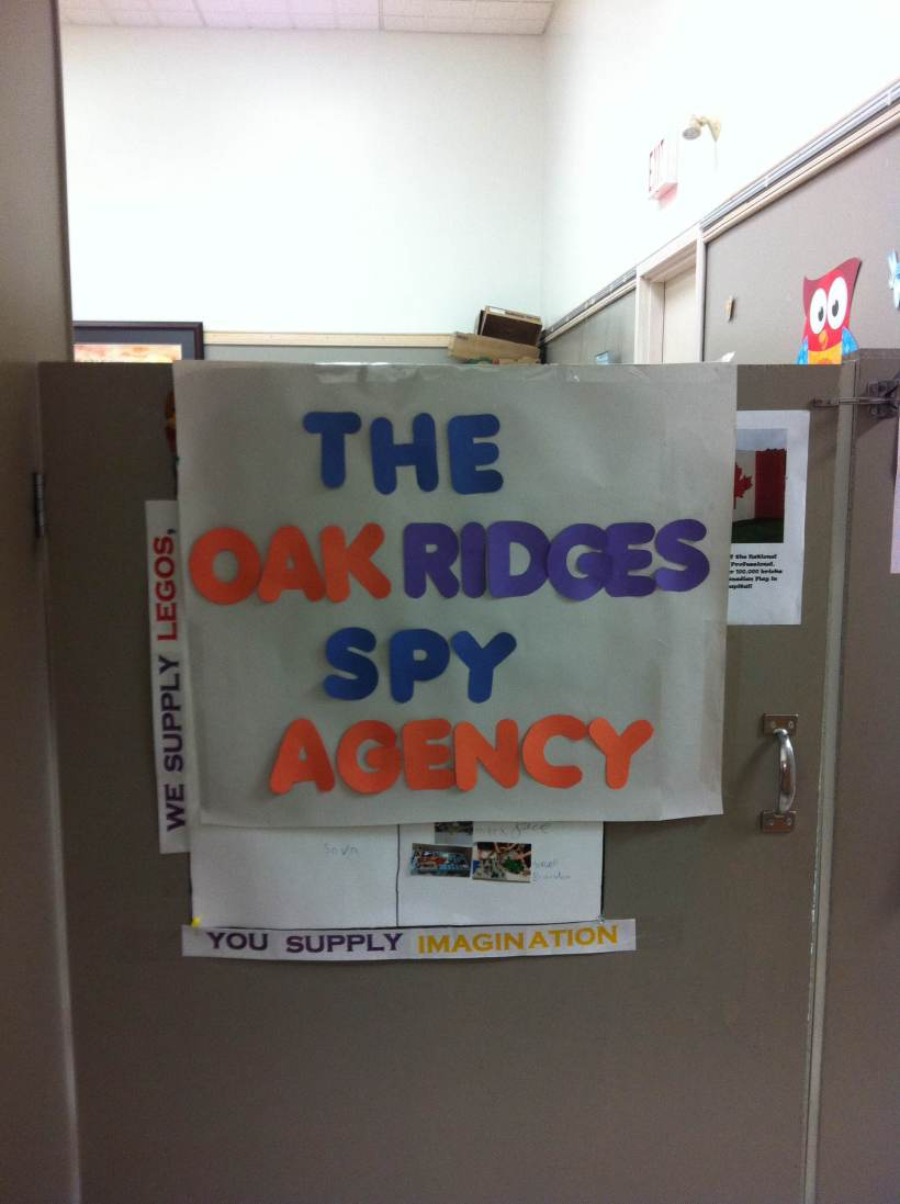 Oak Ridges Spy Agency