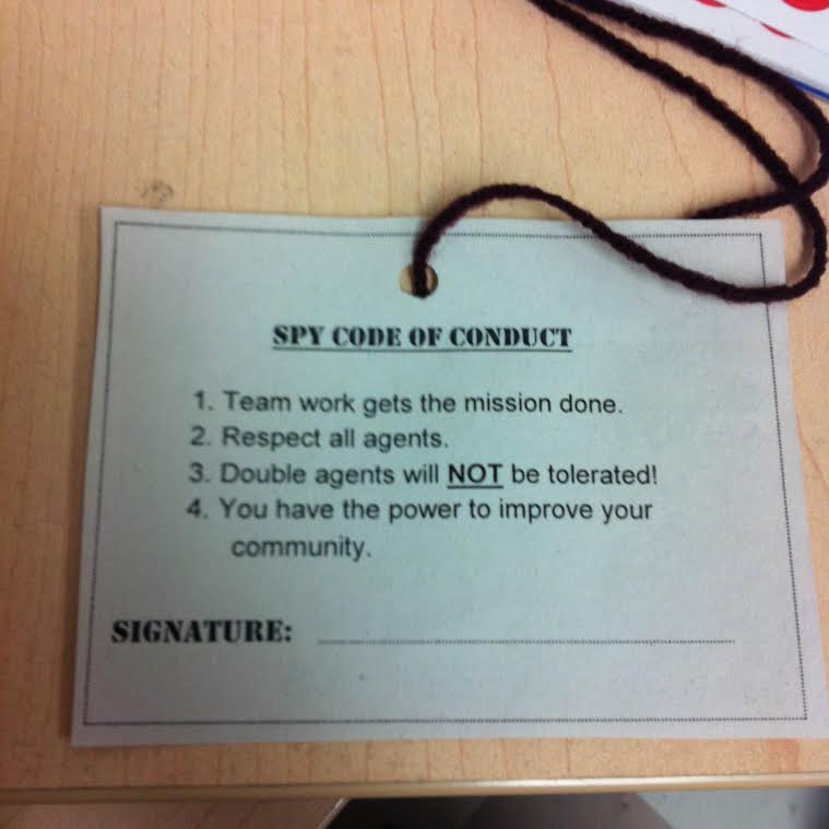 Spy Camp – Rock the Library