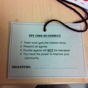 Spy Code of Conduct